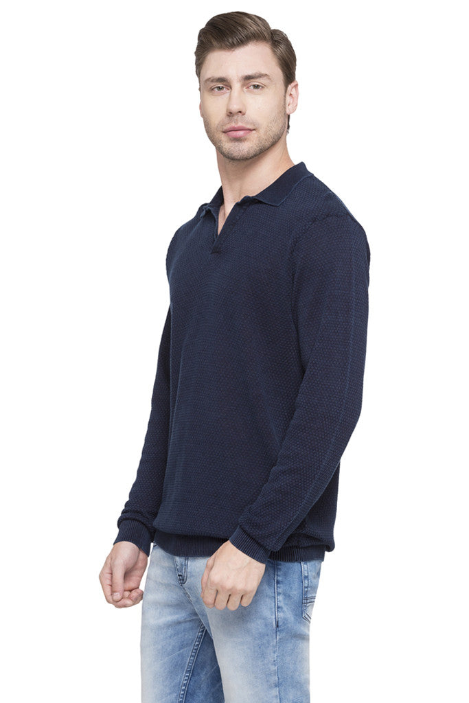 Solid Polo T-shirt-5