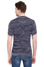 Load image into Gallery viewer, Striped Polo T-shirt-3