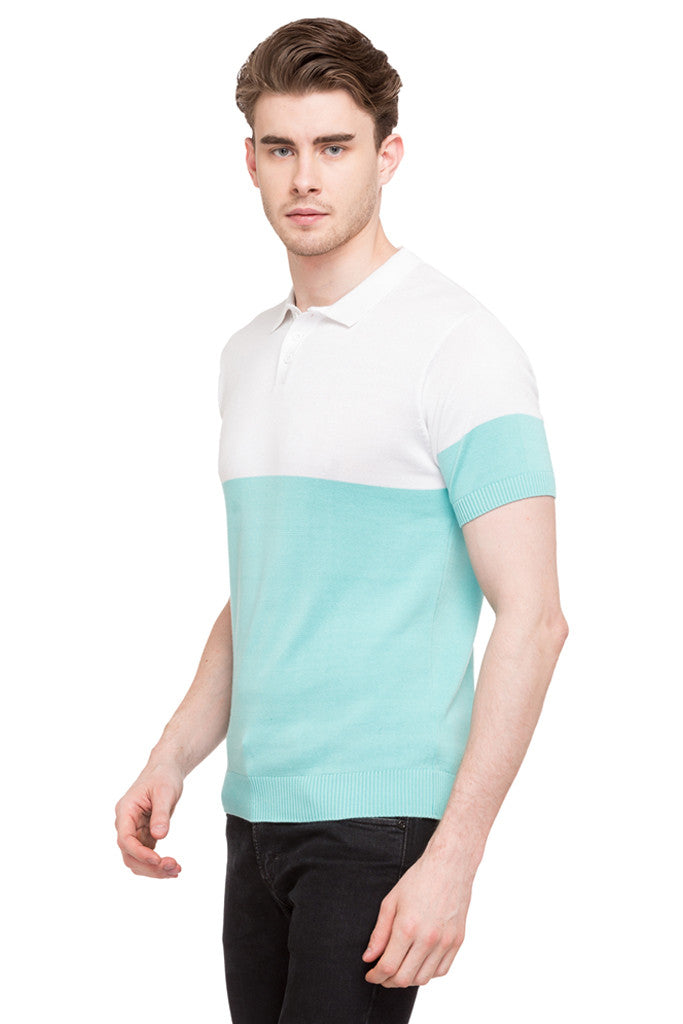 Colorblocked Polo Tee-5