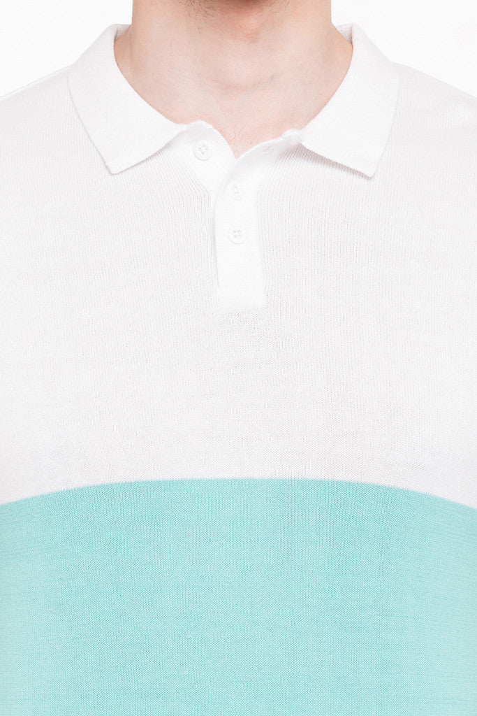 Colorblocked Polo Tee-6