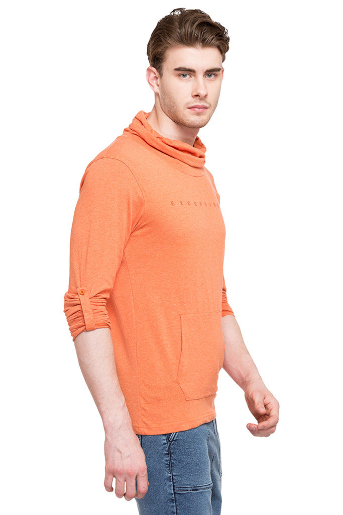Cowl Neck T-shirt-4