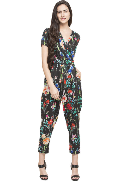 Overlapped Jumpsuit-1