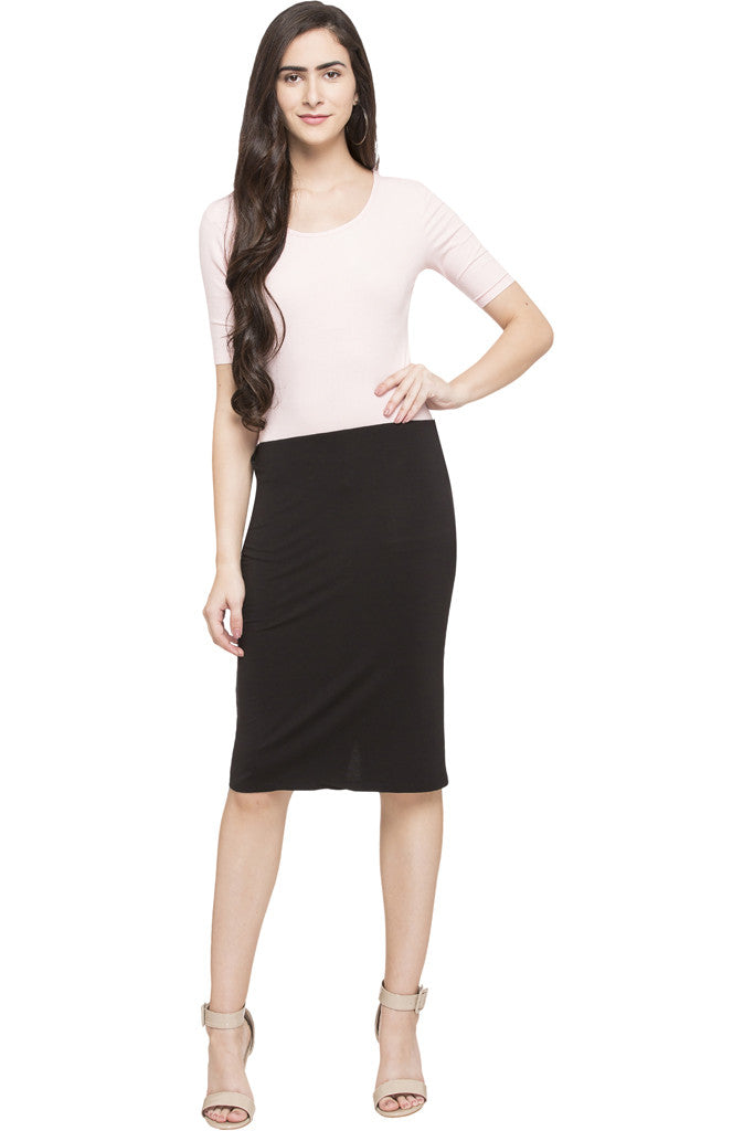 Knee Length Skirt-5