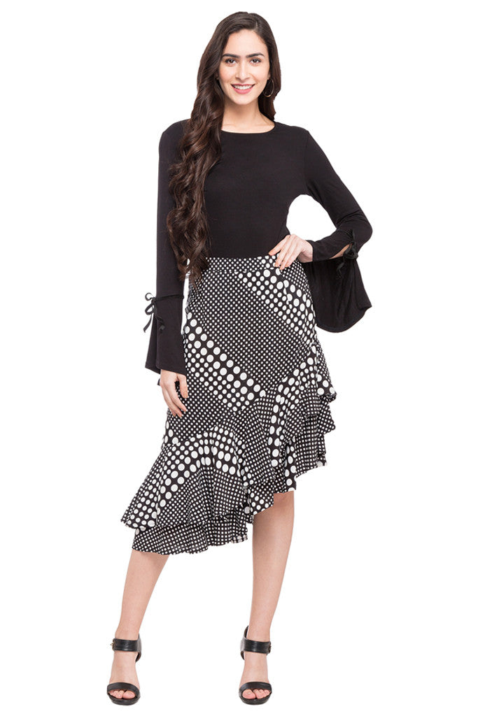 Layered Frill Skirt-2