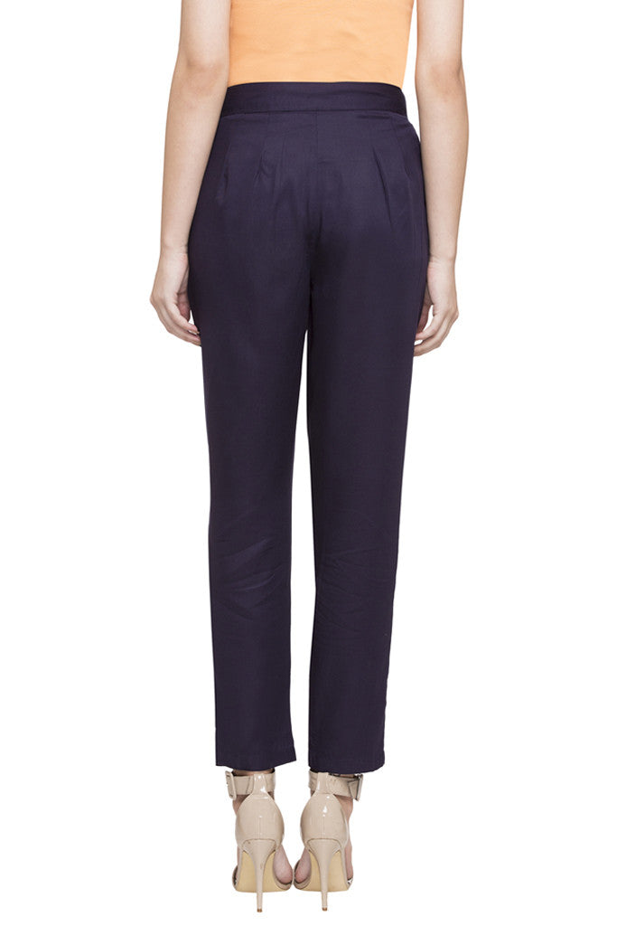 Tie-Up Straight Fit Pants-3