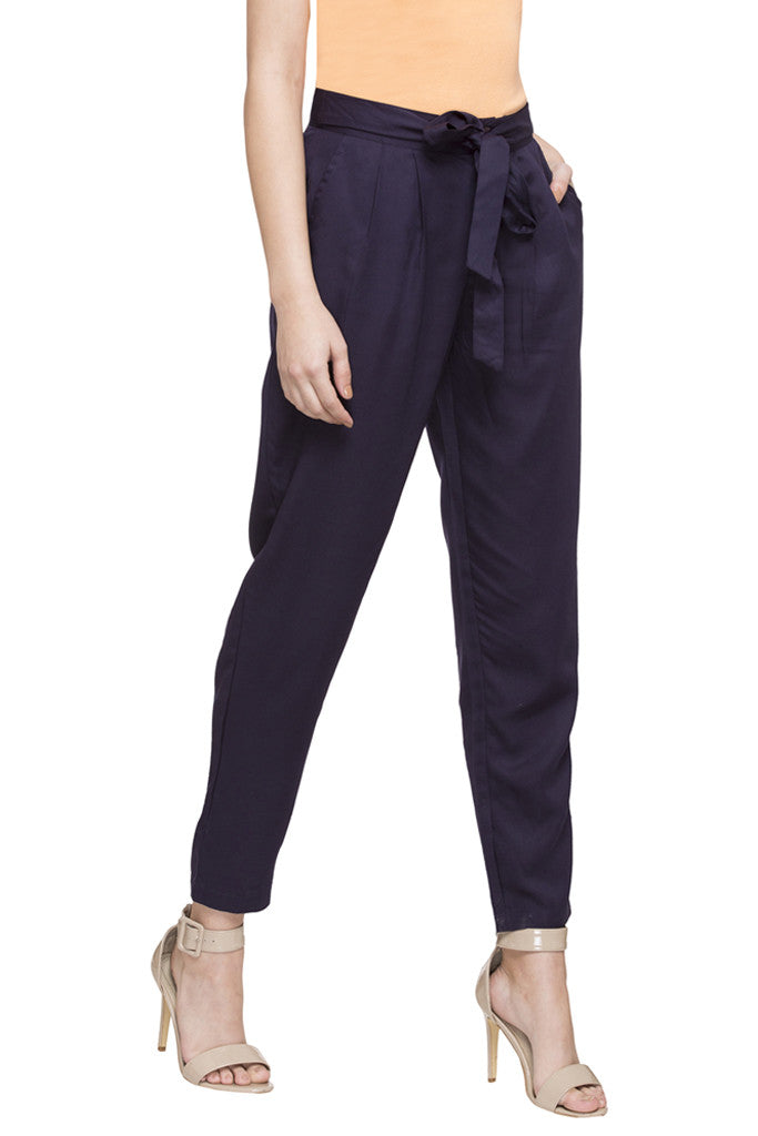 Tie-Up Straight Fit Pants-4
