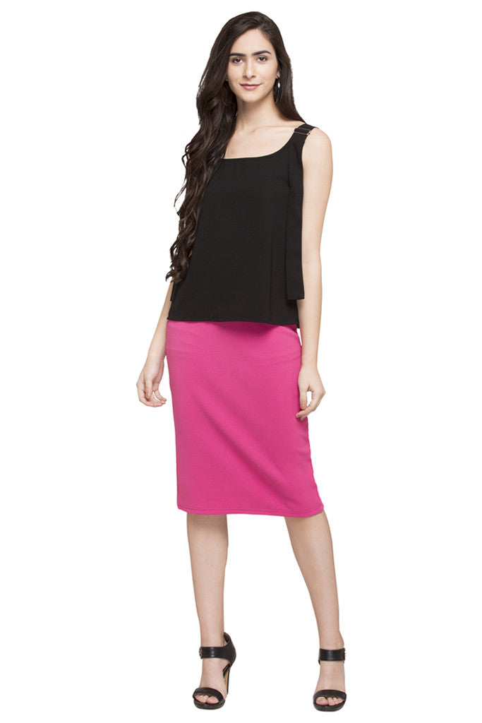 Straight Fit Skirt-2