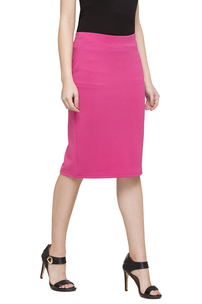 Straight Fit Skirt-4