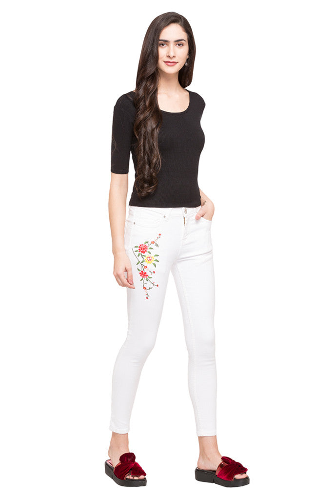 Embroidered Denims-5
