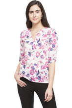 Load image into Gallery viewer, High Low Floral Top-1