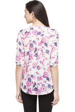 Load image into Gallery viewer, High Low Floral Top-3