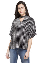 Load image into Gallery viewer, Polka Dot Print Top-1