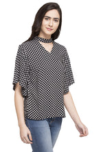 Load image into Gallery viewer, Polka Dot Print Top-4