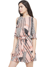 Load image into Gallery viewer, Slit Sleeve Dress-2