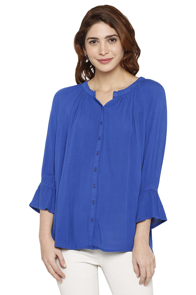 Bell Sleeved Top-1