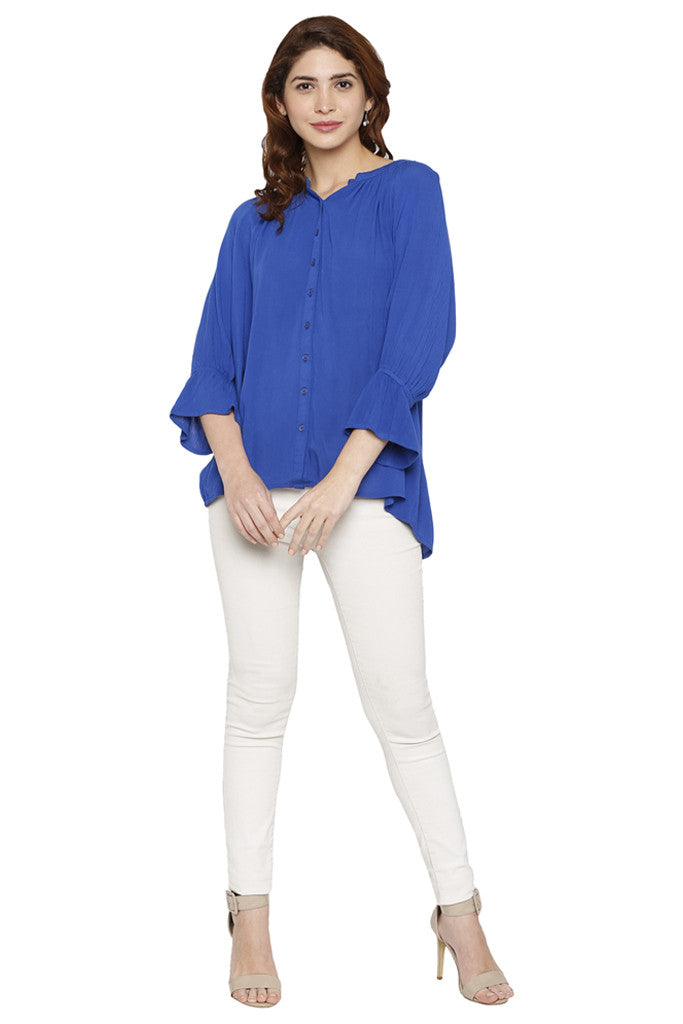 Bell Sleeved Top-2