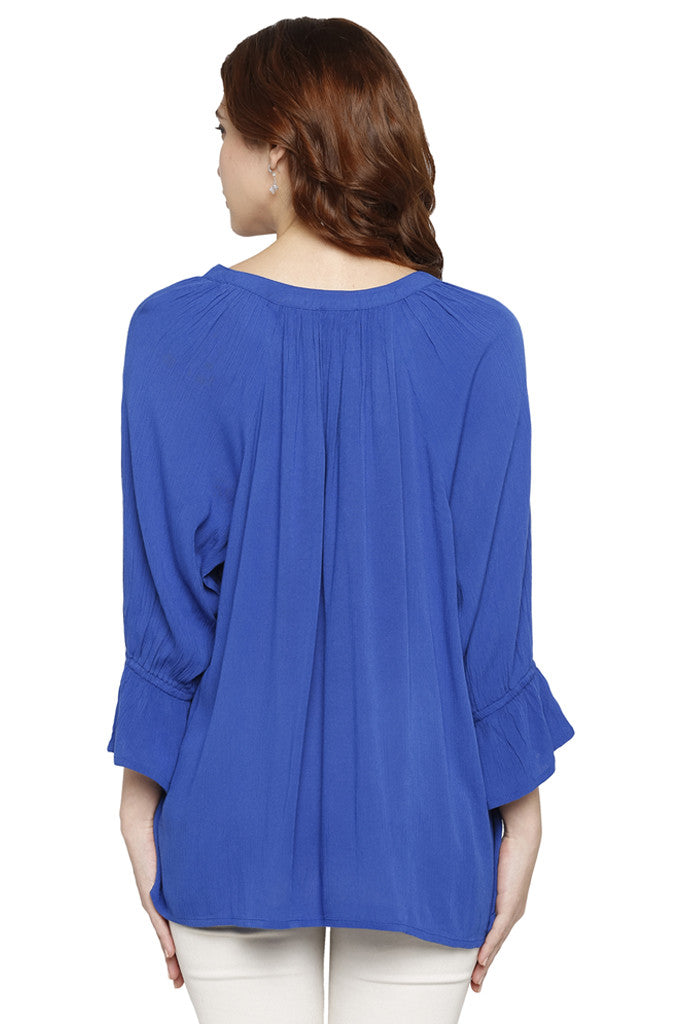 Bell Sleeved Top-3