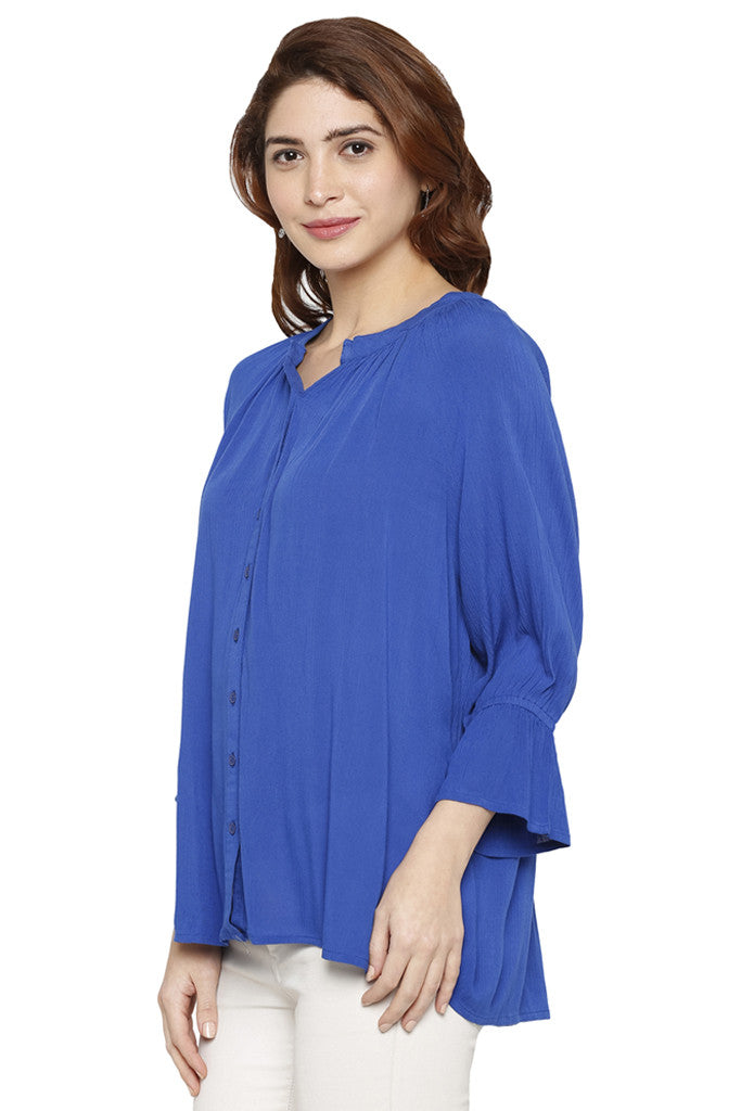 Bell Sleeved Top-4