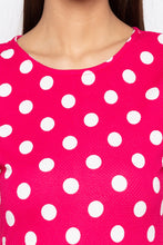 Load image into Gallery viewer, Polka Dot Bell Sleeved Top-5