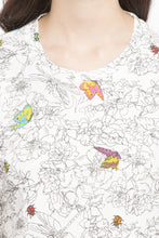 Load image into Gallery viewer, Butterfly Print Top-6