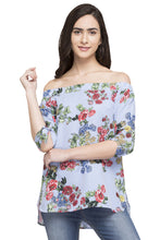 Load image into Gallery viewer, Printed Off Shoulder Top-1
