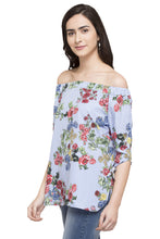 Load image into Gallery viewer, Printed Off Shoulder Top-5