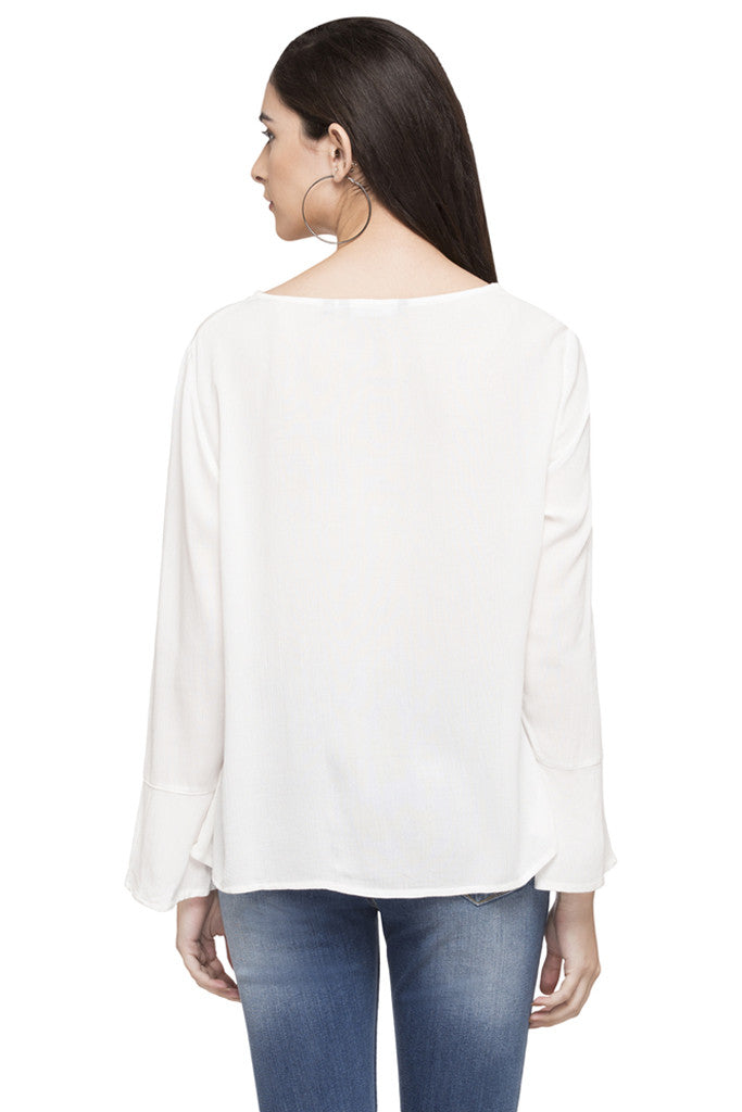 Embroidered Peasant Top-3