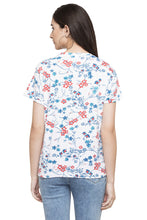 Load image into Gallery viewer, Floral Print T-shirt-3