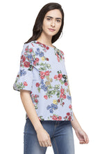 Load image into Gallery viewer, Printed Floral Top-4