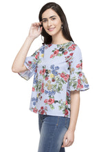 Load image into Gallery viewer, Printed Floral Top-5