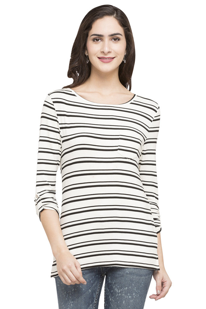 Striped T-shirt-1