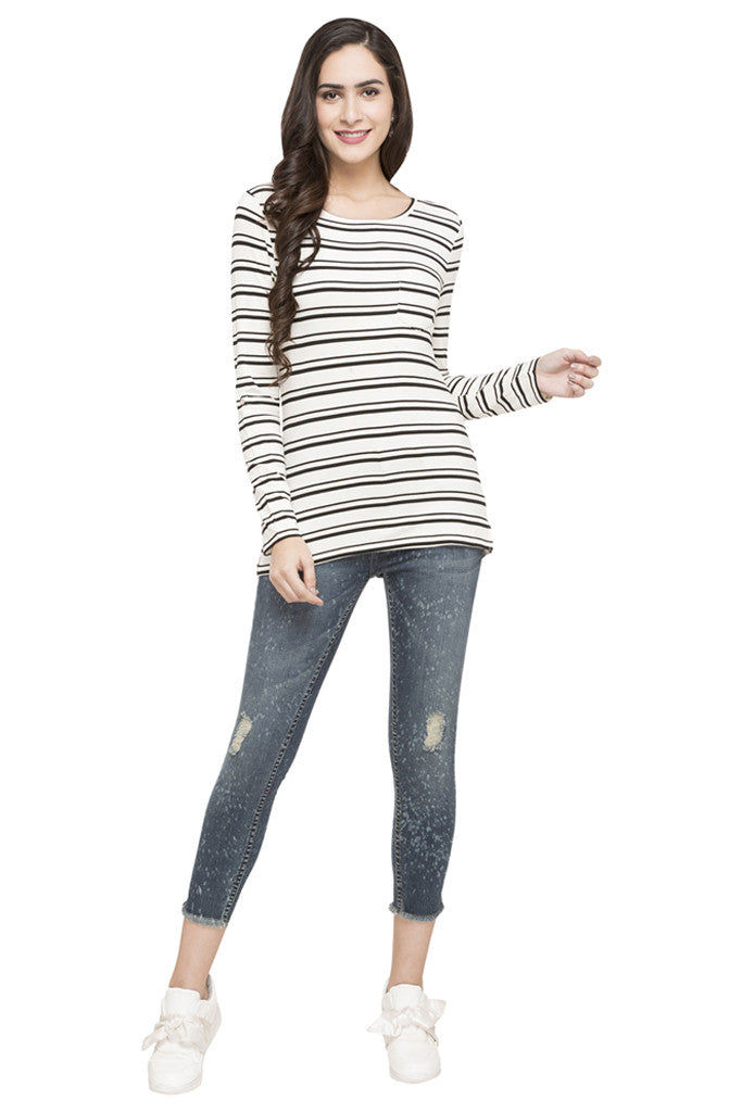 Striped T-shirt-2