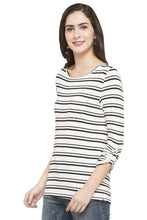 Load image into Gallery viewer, Striped T-shirt-5