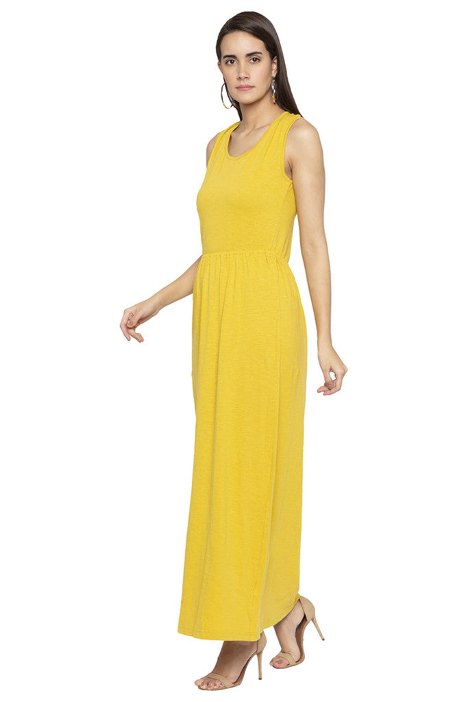 Back Focus Maxi Dress-4
