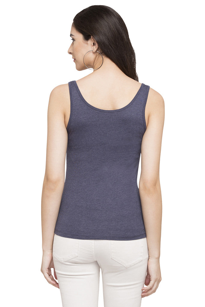 Sleeveless Solid Tee-3