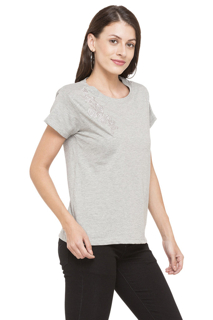 Embroidered T-shirt-4
