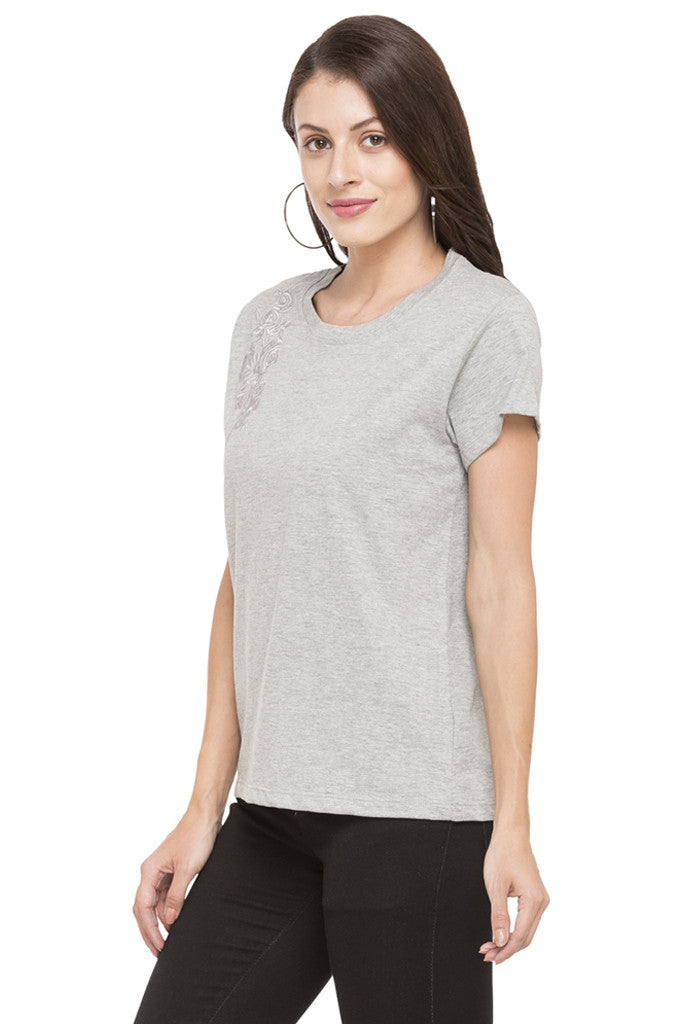 Embroidered T-shirt-5