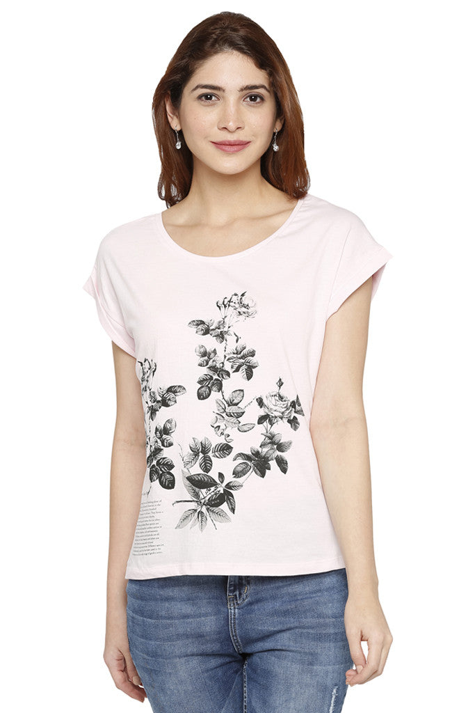 Rose Bunch Graphic Tee-1