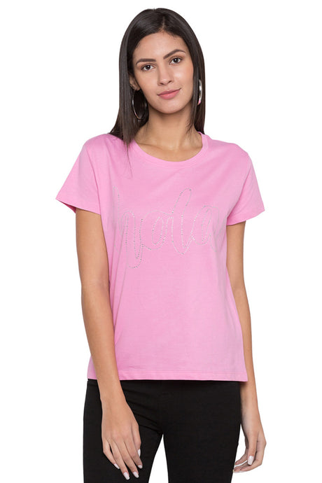 Pearl Embellished T-shirt-1