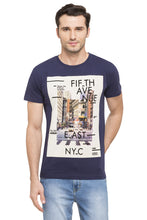 Load image into Gallery viewer, NYC Print Round Neck T-shirt-1