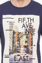 Load image into Gallery viewer, NYC Print Round Neck T-shirt-6