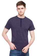 Load image into Gallery viewer, Henley Neck T-shirt-1