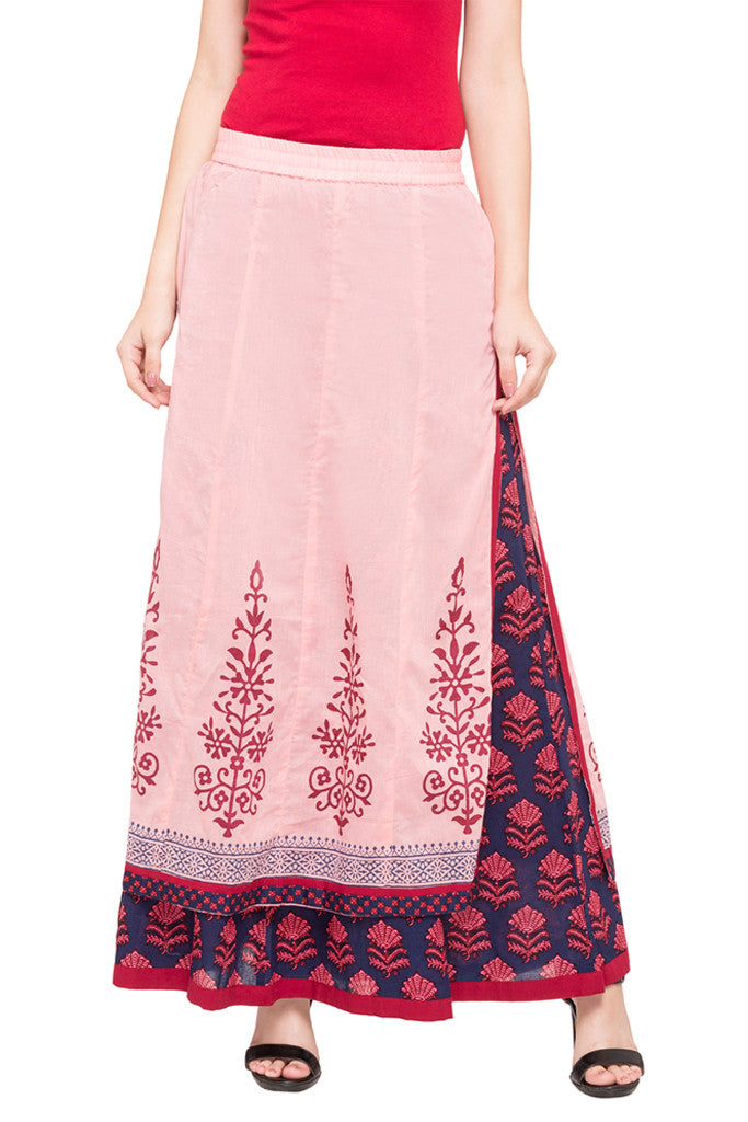 Layered Ethnic Skirt-1