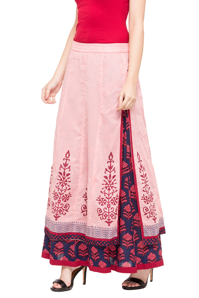 Layered Ethnic Skirt-2