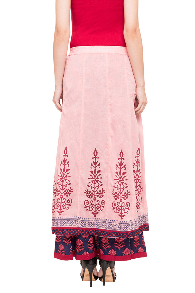 Layered Ethnic Skirt-3