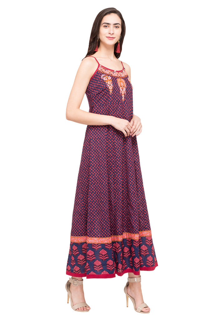 Embroidered Dress-4