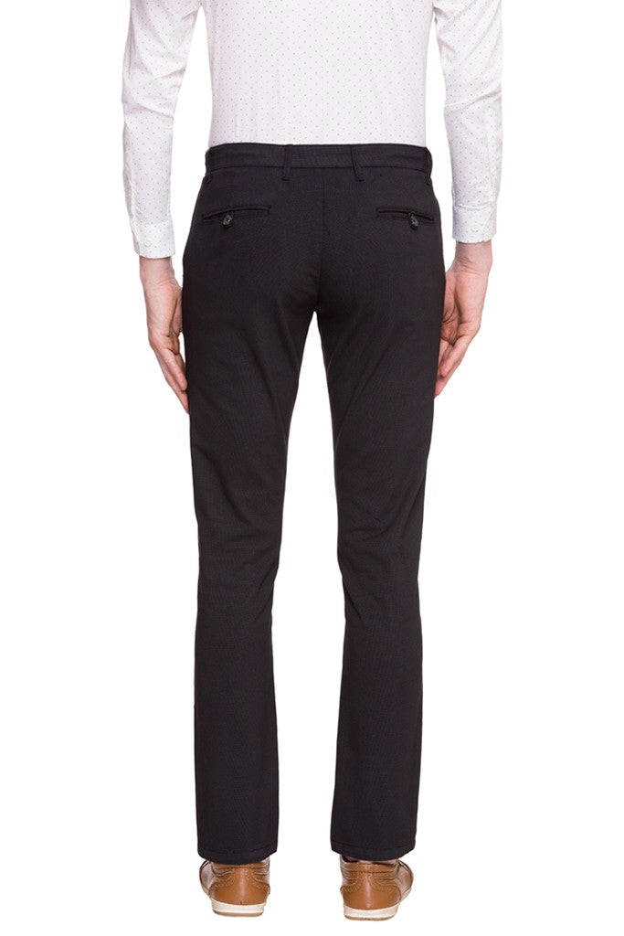 Flat Front Trousers-3