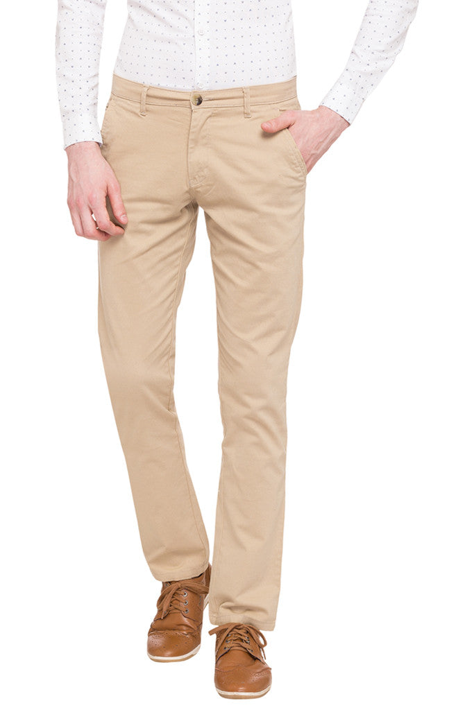 Flat Front Trousers-1