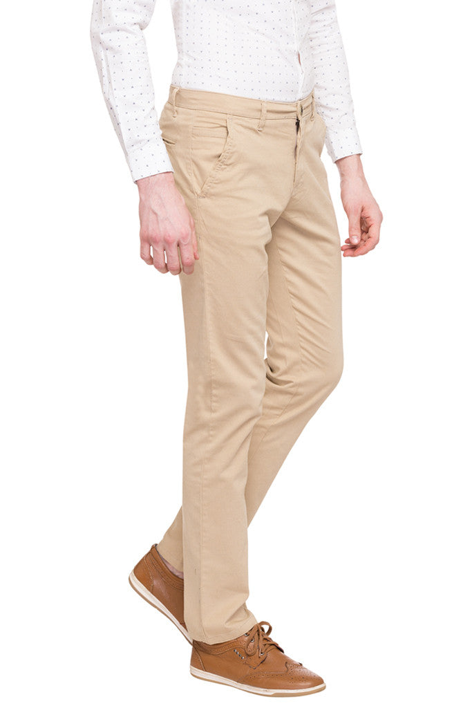 Flat Front Trousers-4