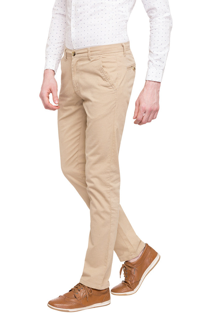Flat Front Trousers-5